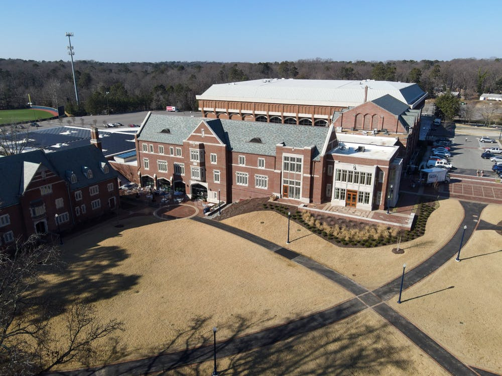 The Well-Being Center at the University of Richmond houses the Student Health Center.