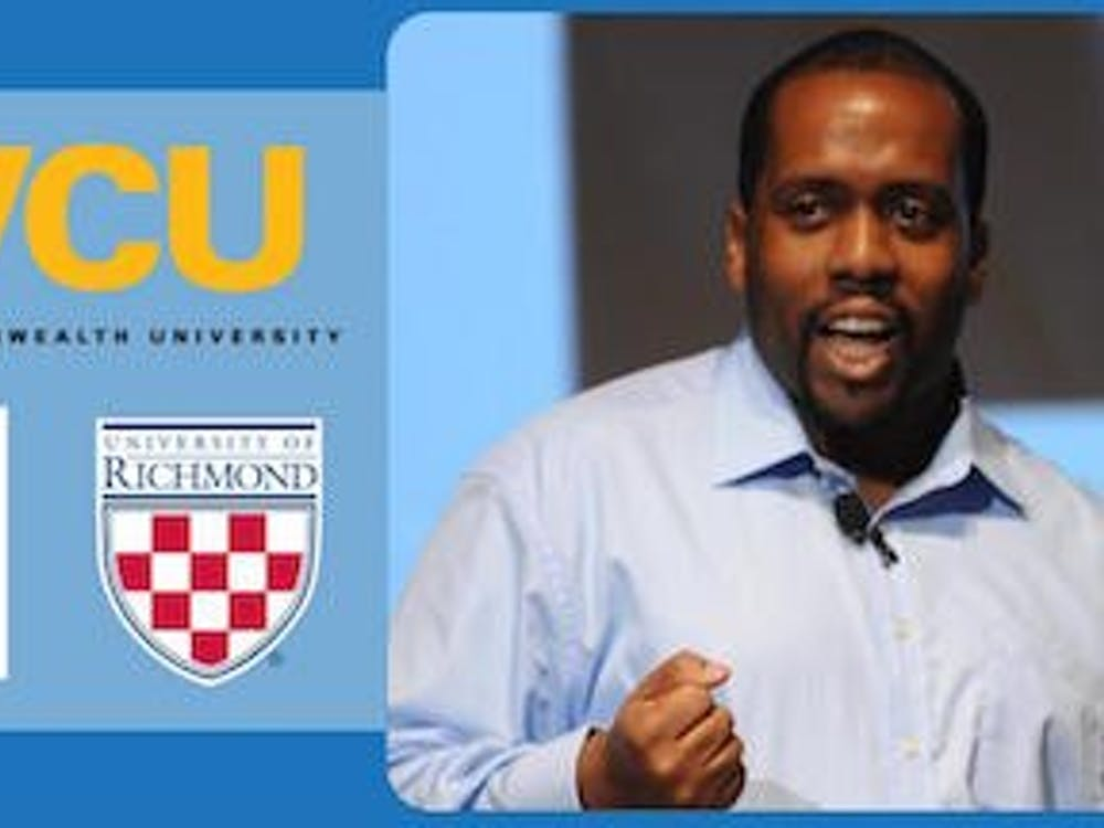 The University of Richmond hosts author Jose Luis Vilson at the Sacred Heart Center as part of the Graduate Education Speaker series. Photo courtesy of University of Richmond website.