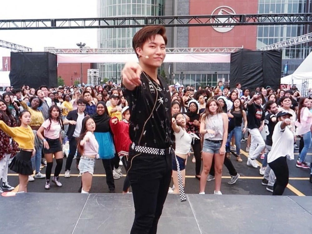 Alumnus Brian Li at KCON18NY. Photo courtesy of Brian Li.