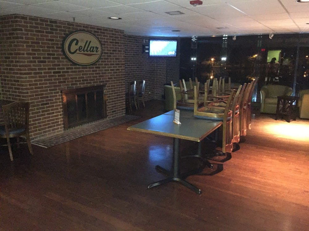 <p>The Cellar's back room for parties and events.</p>
