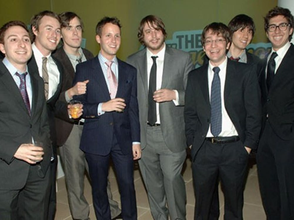 """MTV's """"The CollegeHumor Show"""" premiere party at the IAC Building on February 5, 2009 in New York City.          COURTESY OF JOSH ABRAMSON"""