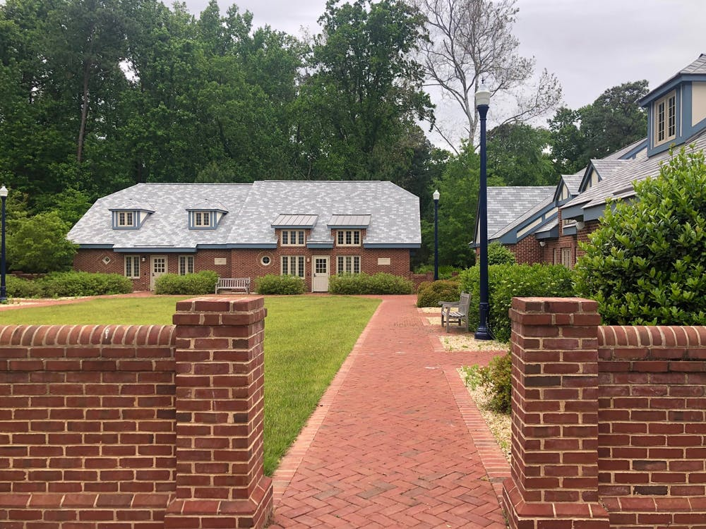 The cottages are non-residential meeting areas for sororities on campus.