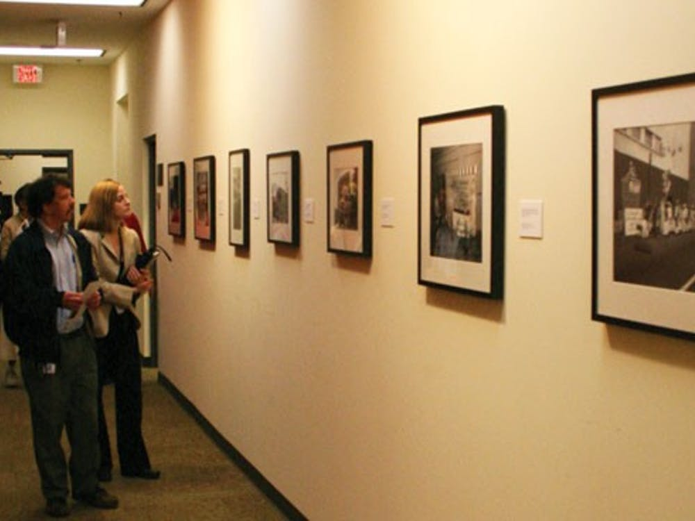 Community members filtered through  UR Downtown's newly opened building during Thursday's open house.
