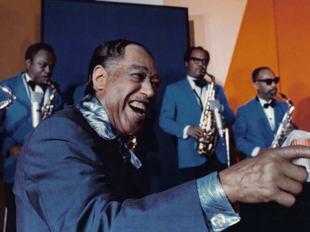 Legendary composer and pianist– and the author's favorite musician– Duke Ellington, here photographed in 1971 | Courtesy ofLouis Panassié/Wikimedia