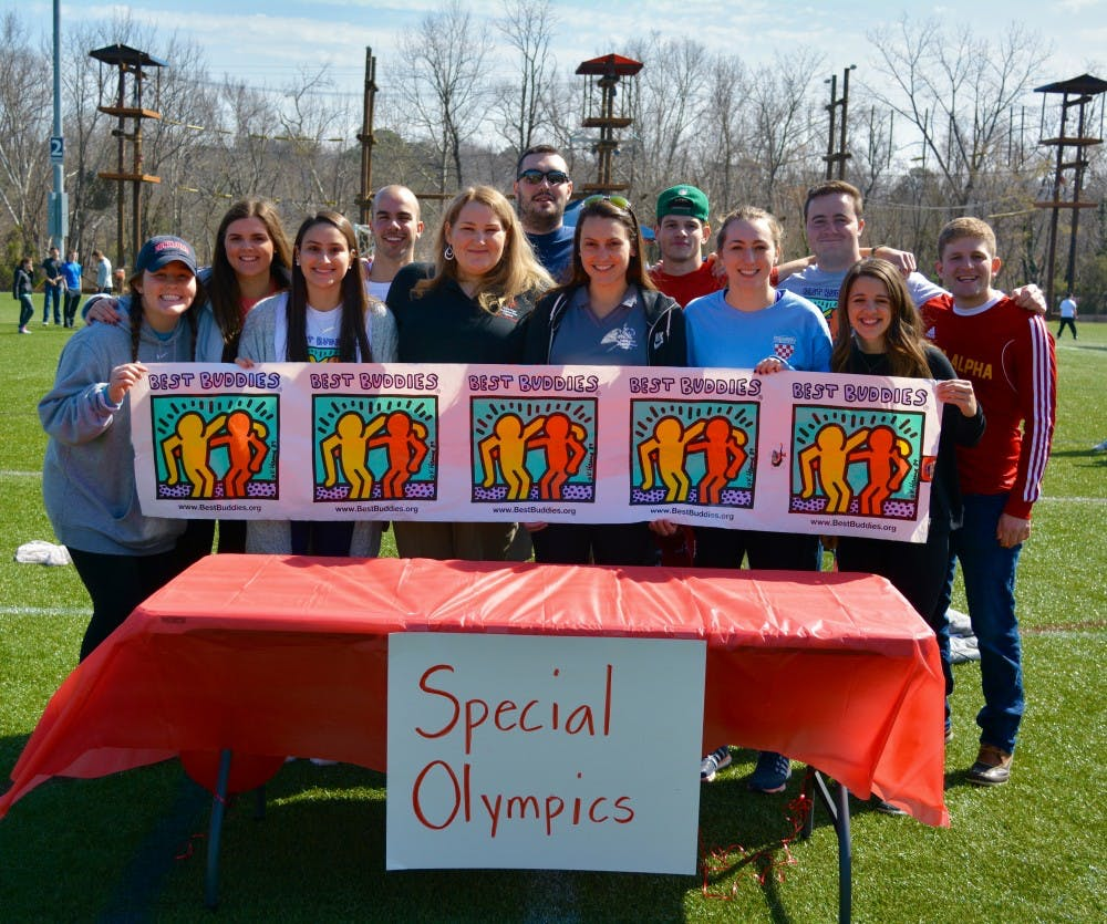 <p>The&nbsp;IFC board and the Best Buddies organizers partnered&nbsp;with representatives from the Special Olympics to&nbsp;put on Saturday's events.&nbsp;</p>