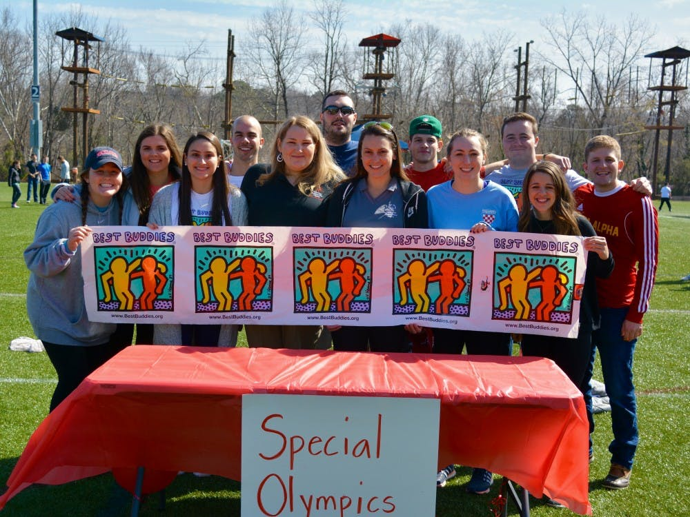 TheIFC board and the Best Buddies organizers partneredwith representatives from the Special Olympics toput on Saturday's events.