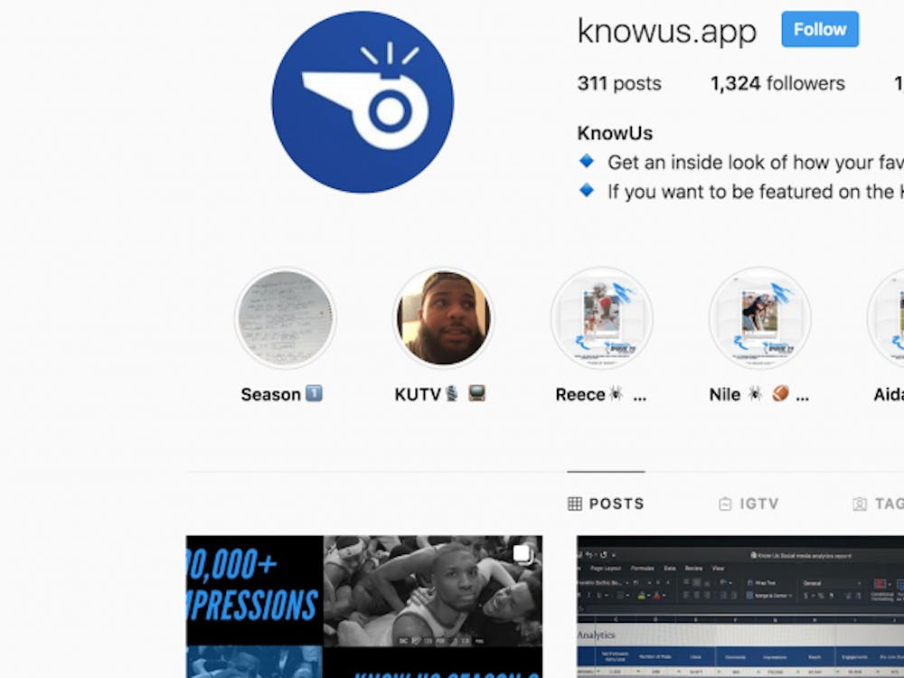 The KnowUs app started with an Instagram page.