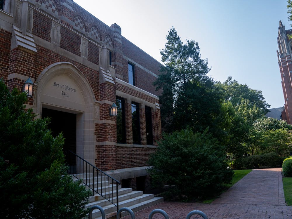The one-time science building, Puryear now houses the University's communications, office of title IX and controller.