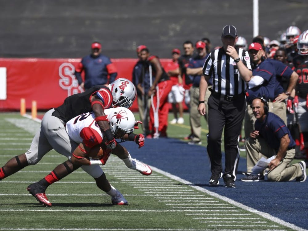 Stony Brook used power and physicality to beat the Spiders on Saturday.