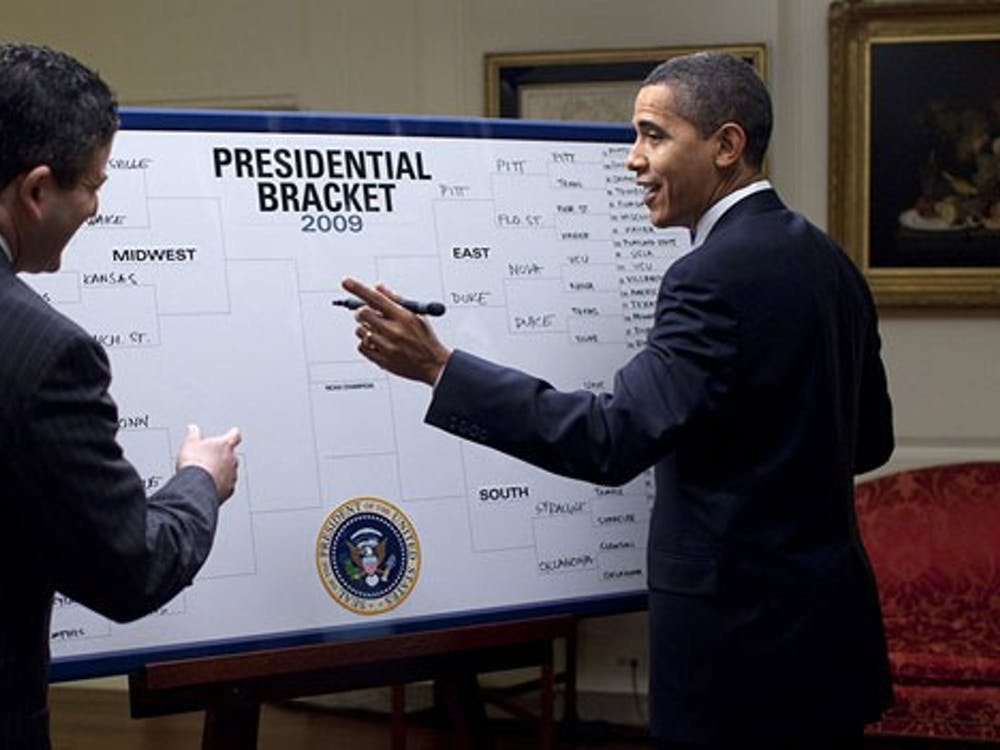 In the cruel world of bracket-making, the bigger they are, the harder they fall. Source: The White House