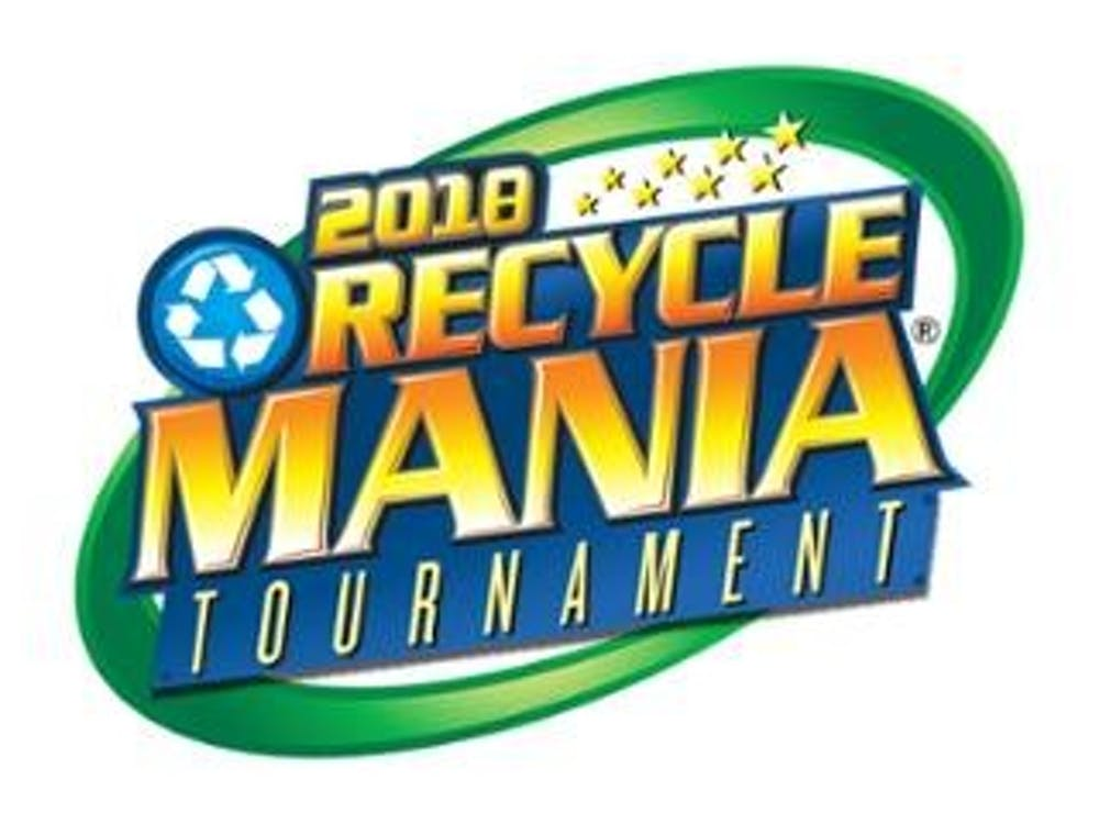 The 2018 RecycleMania logo. Photo courtesy of the RecycleMania page on UR's Office of Sustainability website