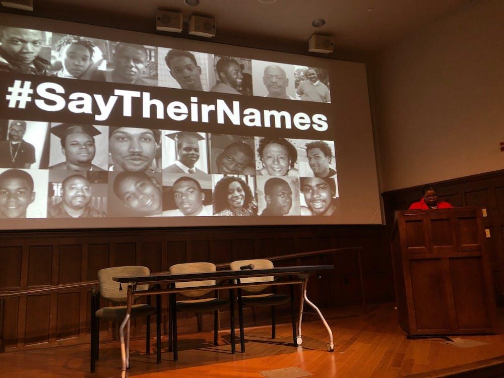 <p>&nbsp;Tammy L. Kernodle speaks about the activism of black female musicians.</p>