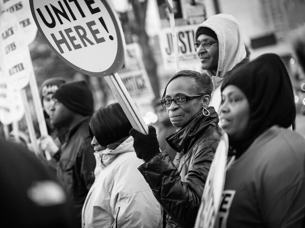 A demonstration in Baltimore in January 2015 | Courtesy ofDorret/Creative Commons