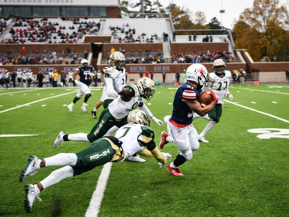 Spider football lost to longtime rival William and Mary 21-15 during the Capital Cup game on Saturday, November 23, 2019.