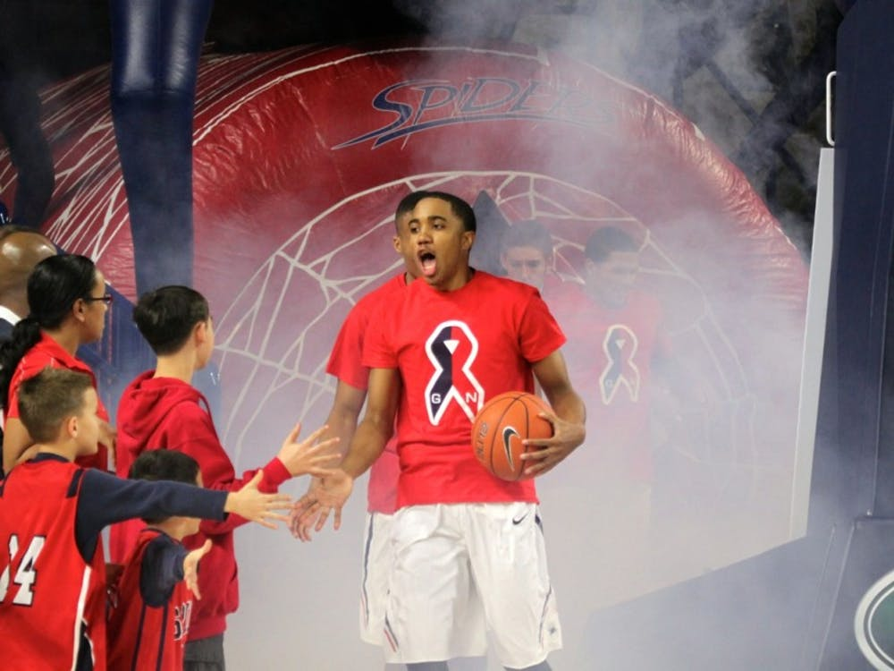 The Richmond Spiders Basketbal team defeated Radford Friday night in the home opener. Photos by Rayna Mohrmann.