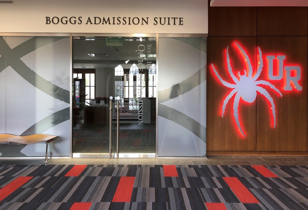 <p>Boggs Admissions Suite at the Queally Center.</p>