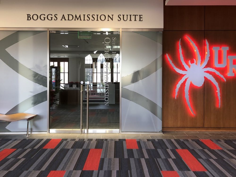 Boggs Admissions Suite at the Queally Center.