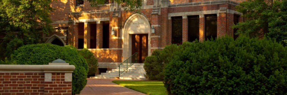 <p>Puryear Hall, where Melanie Jenkins works to achieve institutional effectiveness. Photo courtesy of the University of Richmond.&nbsp;</p>