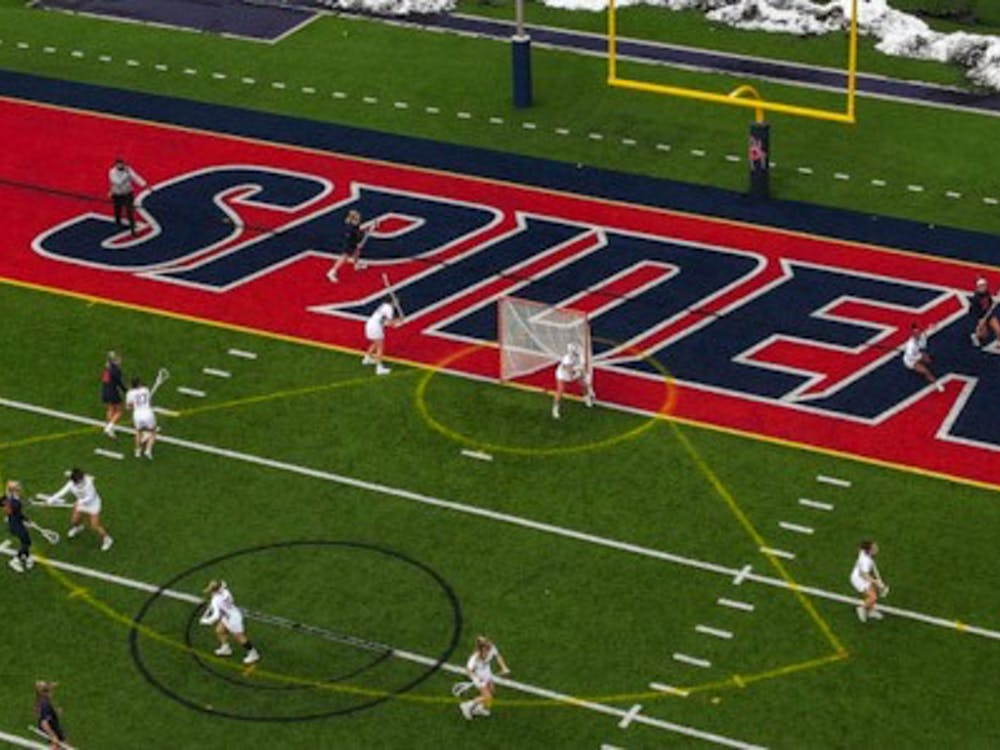 UR Women's Lacrosse team lost 15-9 loss to UVA on Feb. 19. This was the Spiders' first loss of the early season.