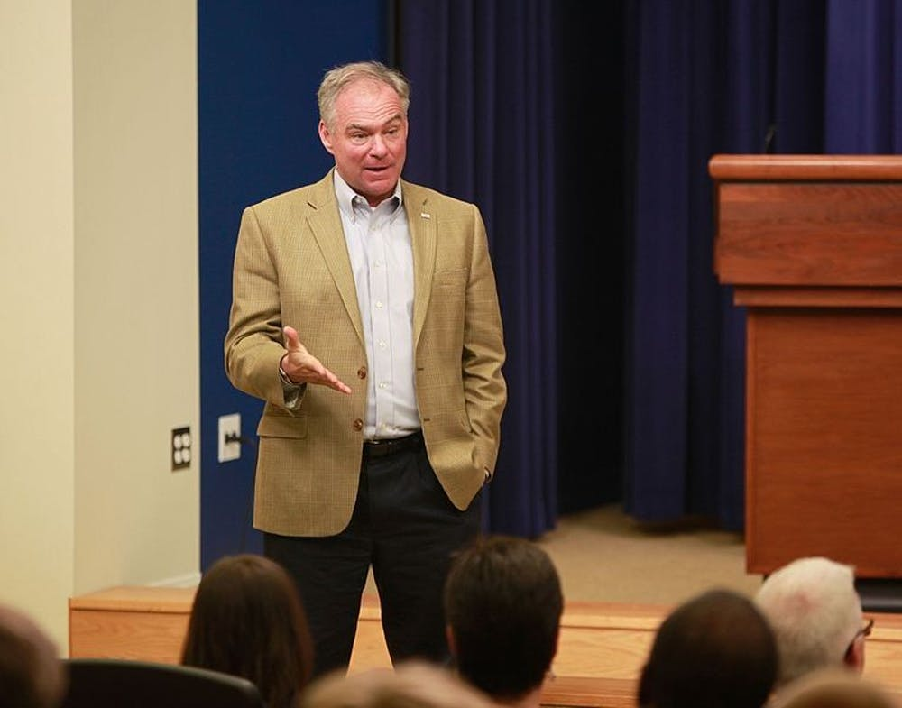 <p>Sen. Tim Kaine criticized the integrity of the&nbsp;FBI in an exclusive interview with The Collegian.&nbsp;</p><p><em>Photo Courtesy of the U.S. Department of Education</em></p>