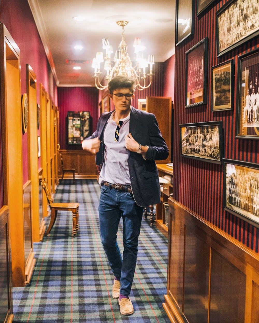 <p>Zach Ryan, sophomore, started his own clothing line after being inspired to become an entrepreneur in high school.&nbsp;</p>