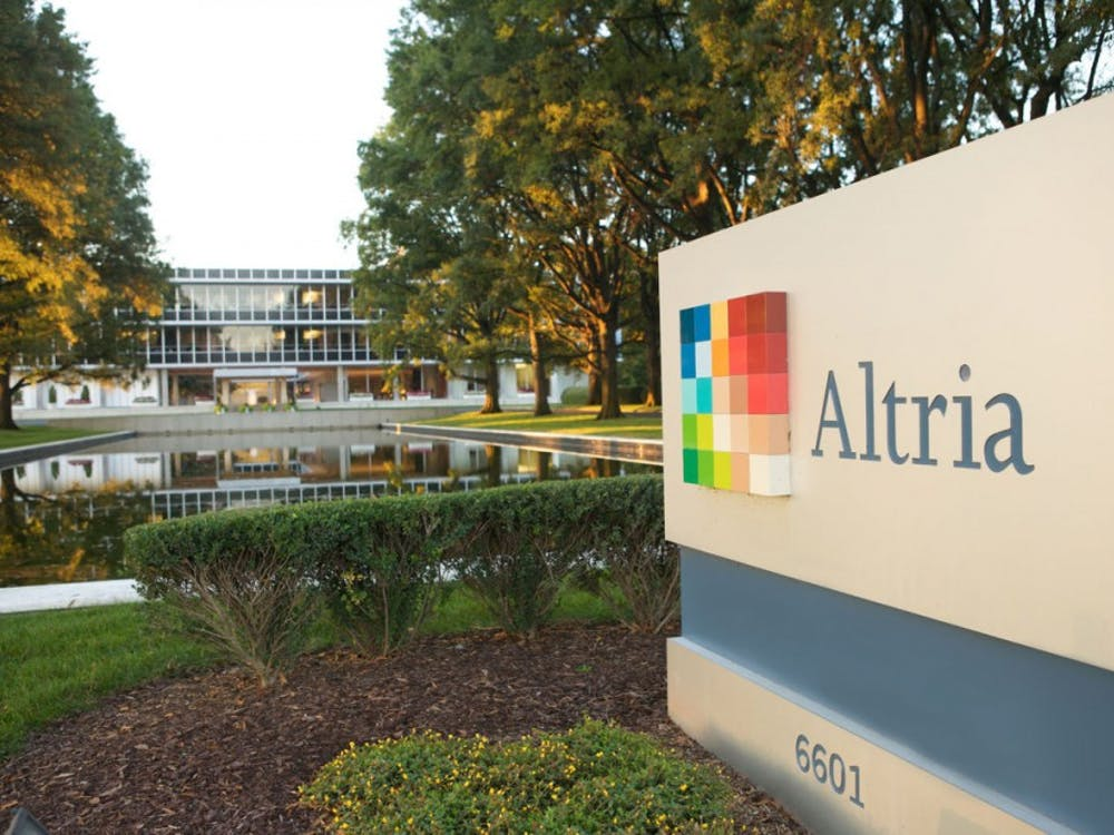 Altria headquarters located in Henrico County, Virginia. Photo courtesy of the Richmond Times Dispatch.