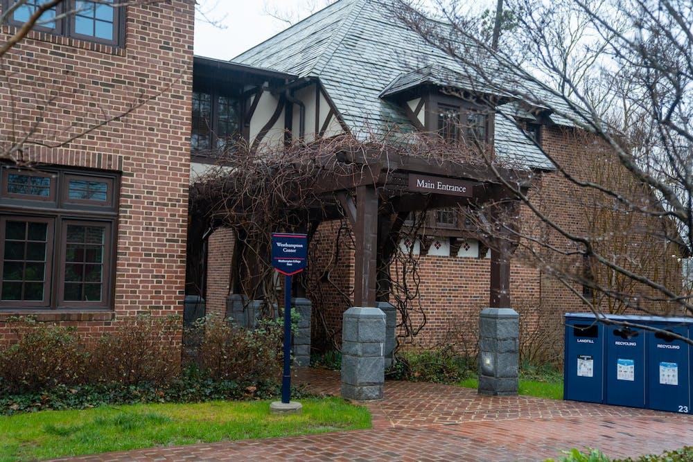 <p>Westhampton Center&nbsp;houses the Westhampton College Dean's Office.&nbsp;</p>