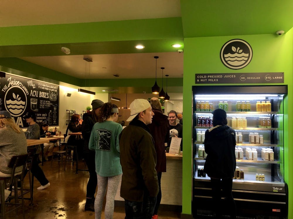 <p>The Juice Laundry RVA is located walking distance from campus.&nbsp;</p>