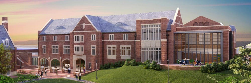 <p>A new building will house all well-being departments. <em>Image courtesy of Health and Well-Being at Richmond.&nbsp;</em></p>