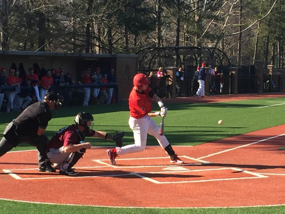 <p>Richmond lost two of its three games against St. Joseph's this weekend at Pitt Field.&nbsp;</p>