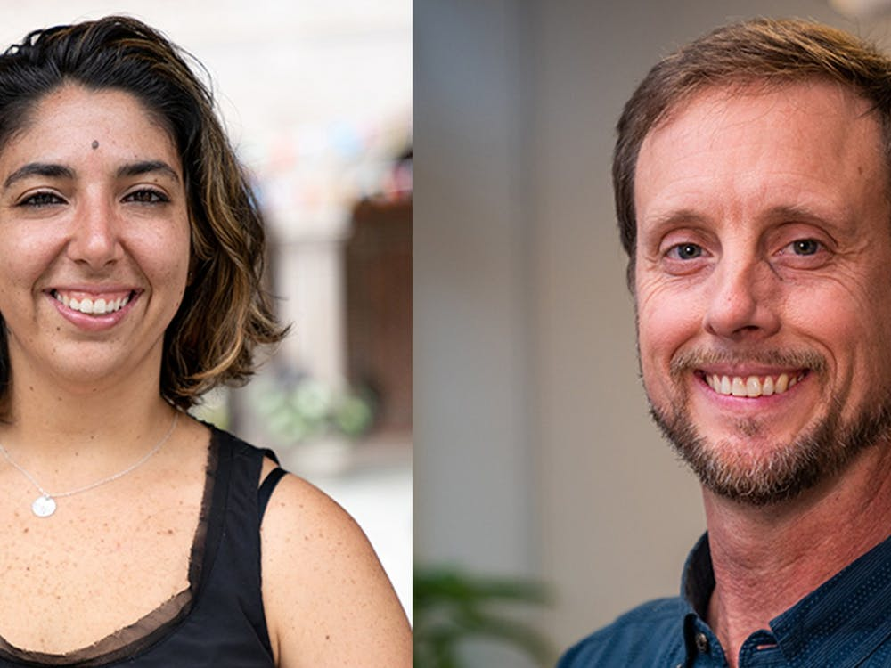 Geography professors Stephanie Spera (left) and David Salisbury (right) received funding from NASA to study environmental changes to the Amazon. Photos courtesy of University Communications