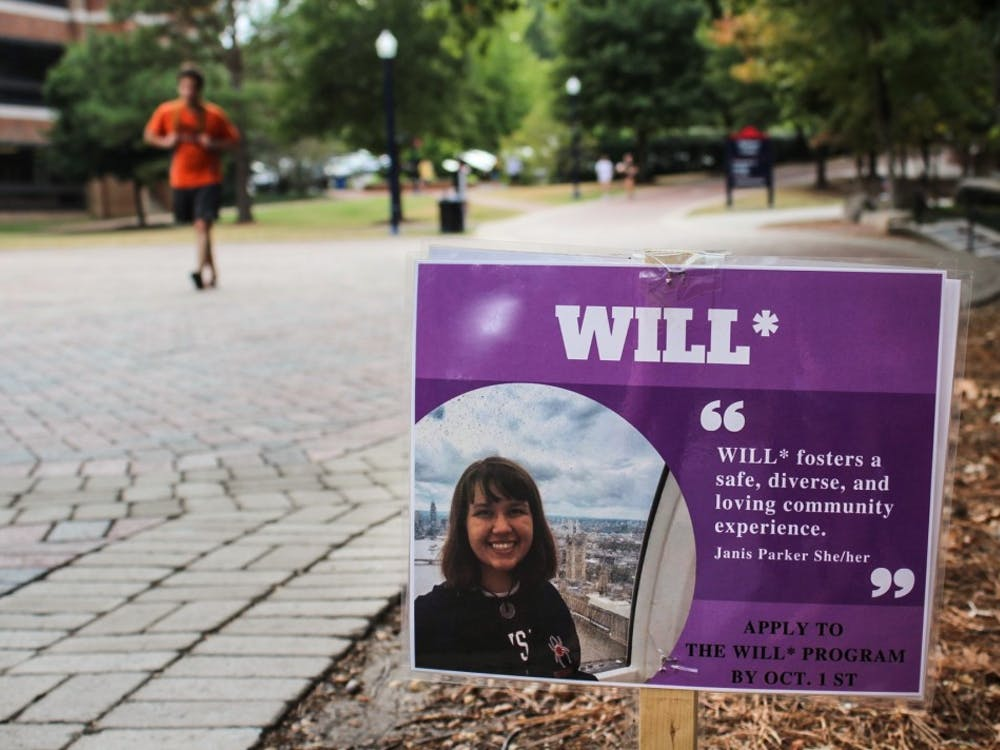 A WILL* flier is displayed in the Forum.