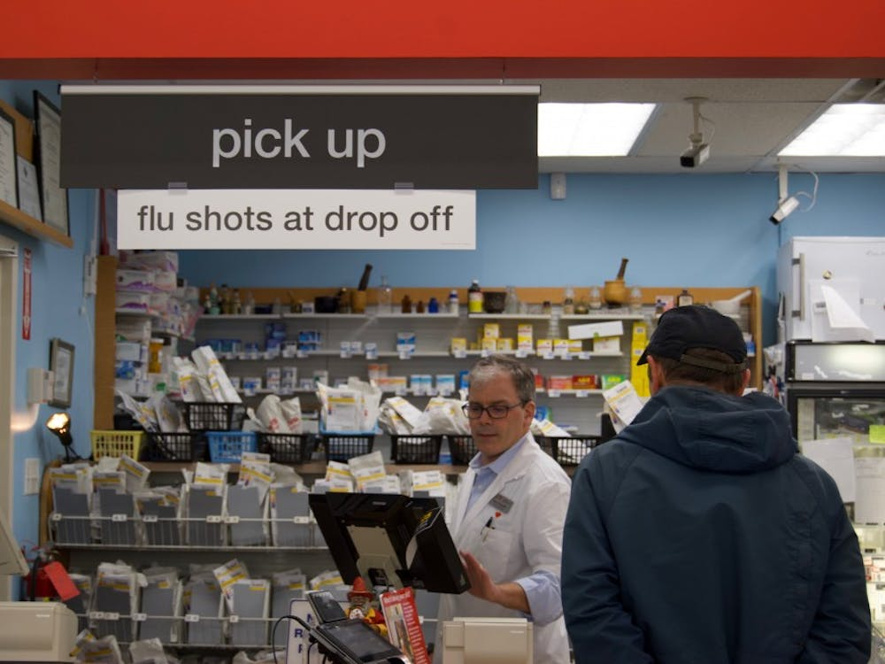 CVS Pharmacy, including the one located at The Village shopping center on Three Chopt Road, is providing free flu shots this year.