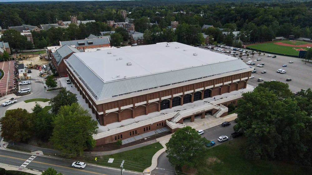 Robin's Arena, home to the Richmond Spiders' basketball teams