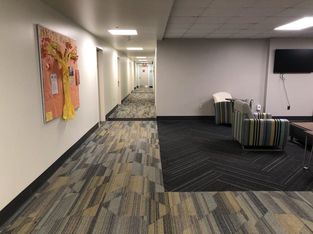 <p>A hallway in Gray Court.&nbsp;</p>
