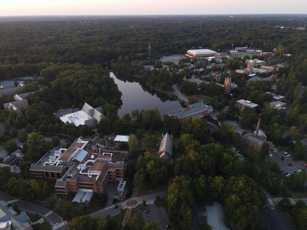 <p>The University of Richmond's campus</p>