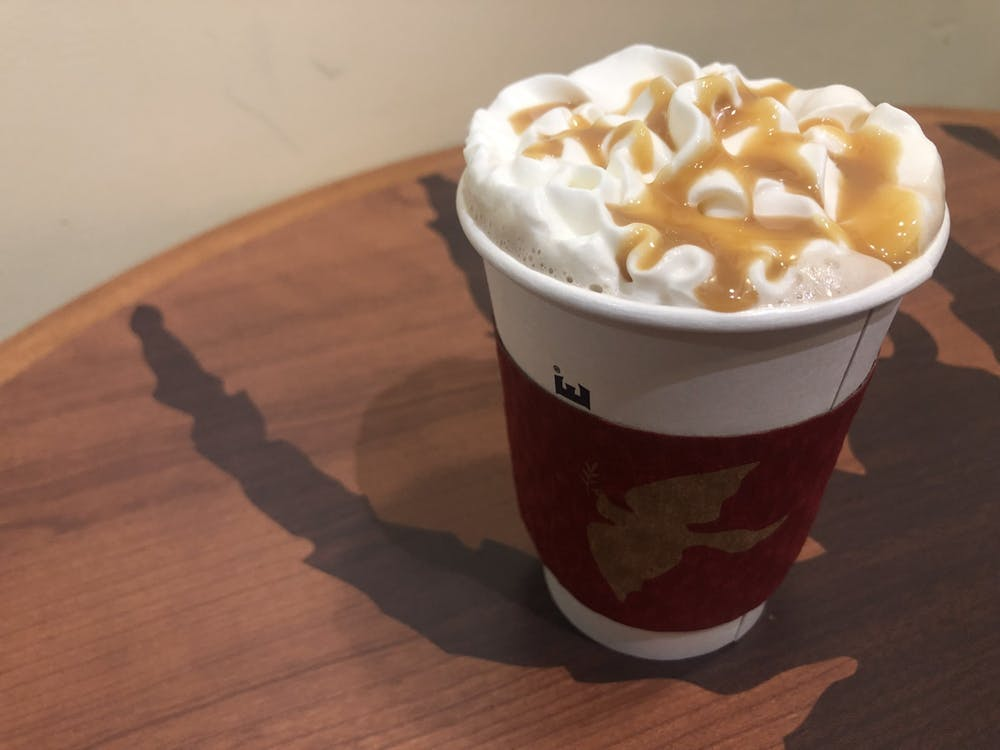 <p>The toasted marshmallow mocha from 8:15 at Boatwright.&nbsp;</p>