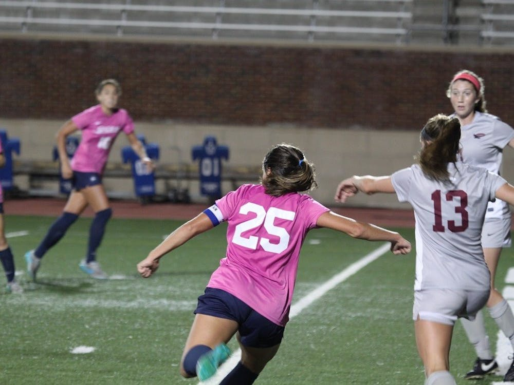 Richmond lost to St Joseph's 2-1 Thursday night. The Spiders are 4-8-1 overall this season. Photos by Evan McKay.