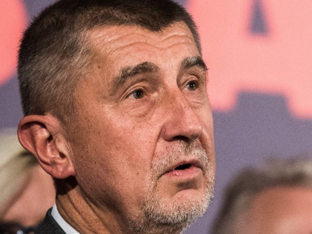 """Andrej Babis, theprime minister of the Czech Republic,is called the """"Czech Trump"""" by some because of his populist views and business empire, according to CNN. Photo courtesy of CNN."""