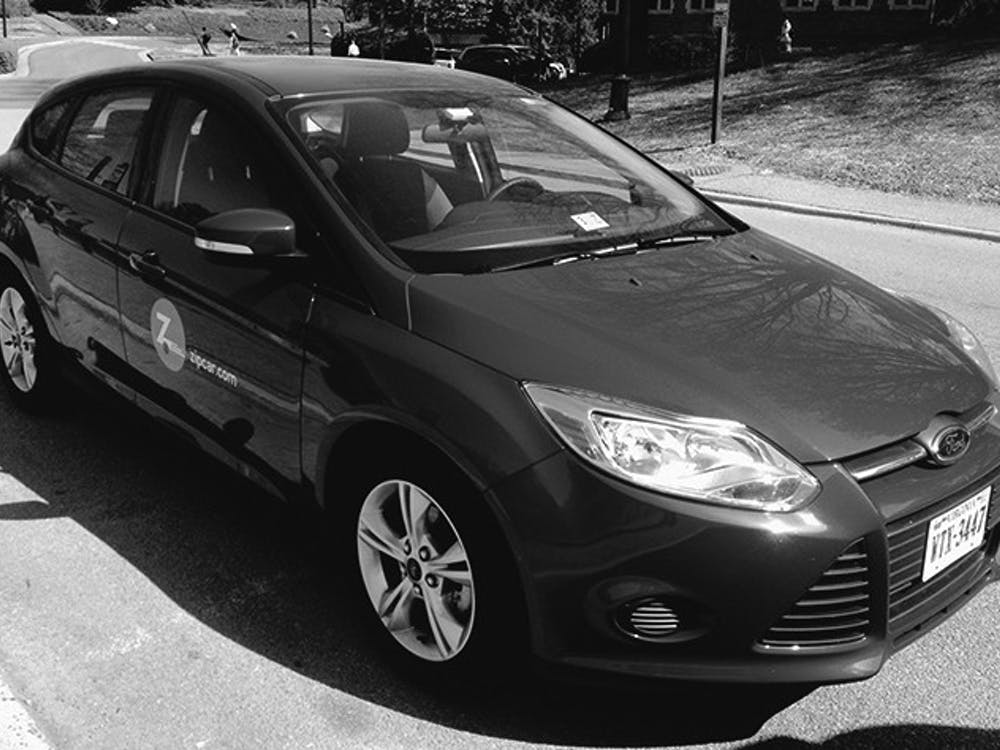 Meet Beavis, the new Ford Focus that joined the University of Richmond's ZipCar program.