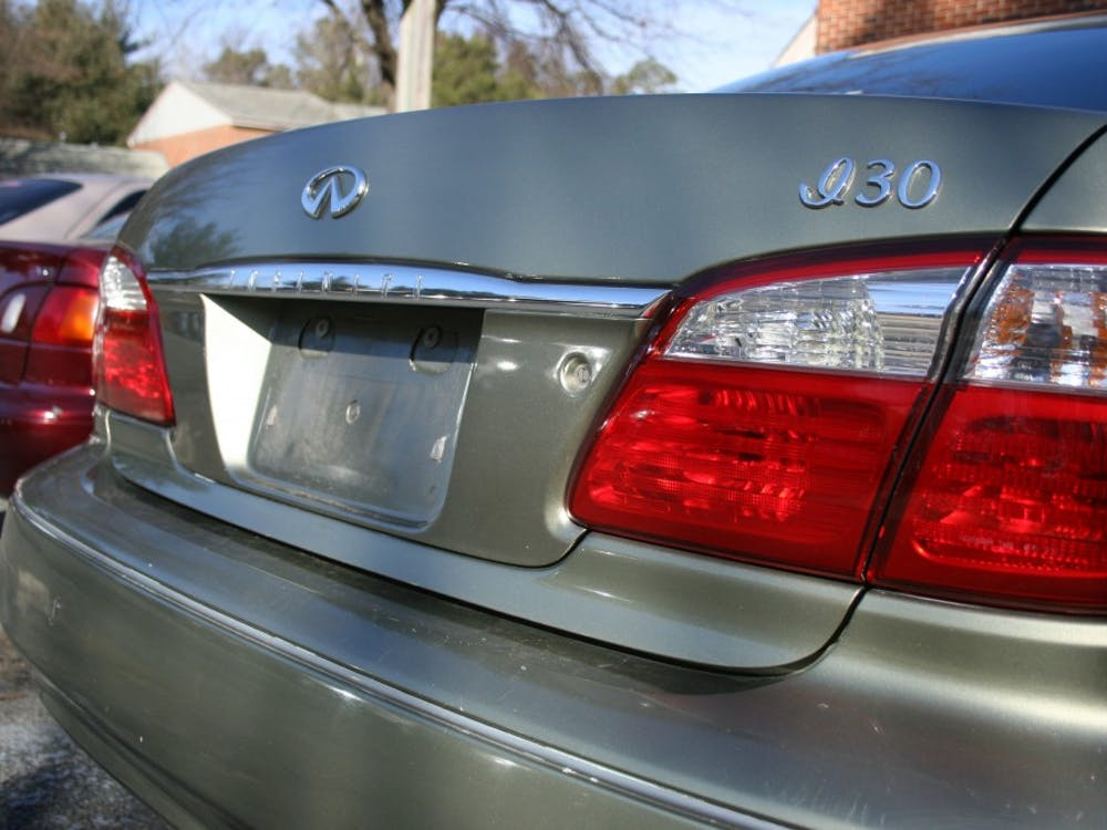 Numerous license plates were stolen from cars in the apartment lots over the weekend.