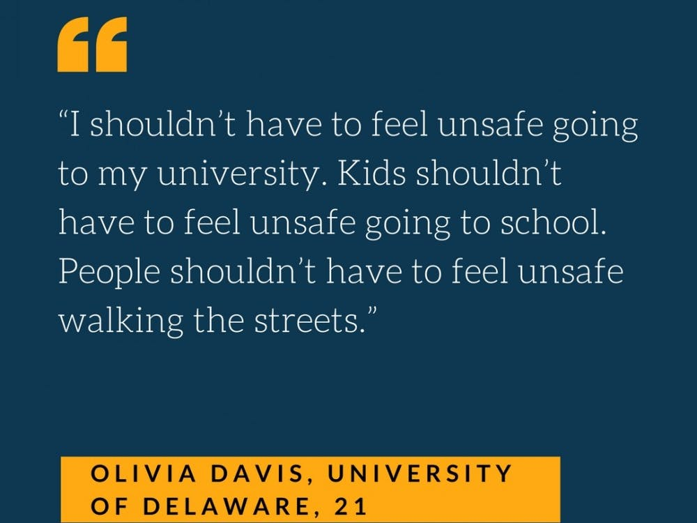 On March 24, people of all ages gathered in Washington D.C. for the March for Our Lives, a rally protesting gun violence. Students from the Marjory Stoneman Douglas school organized the rally in response to the shooting at their school that left 17 dead.  The Collegian asked a handful of attendees why they came. These are their responses.
