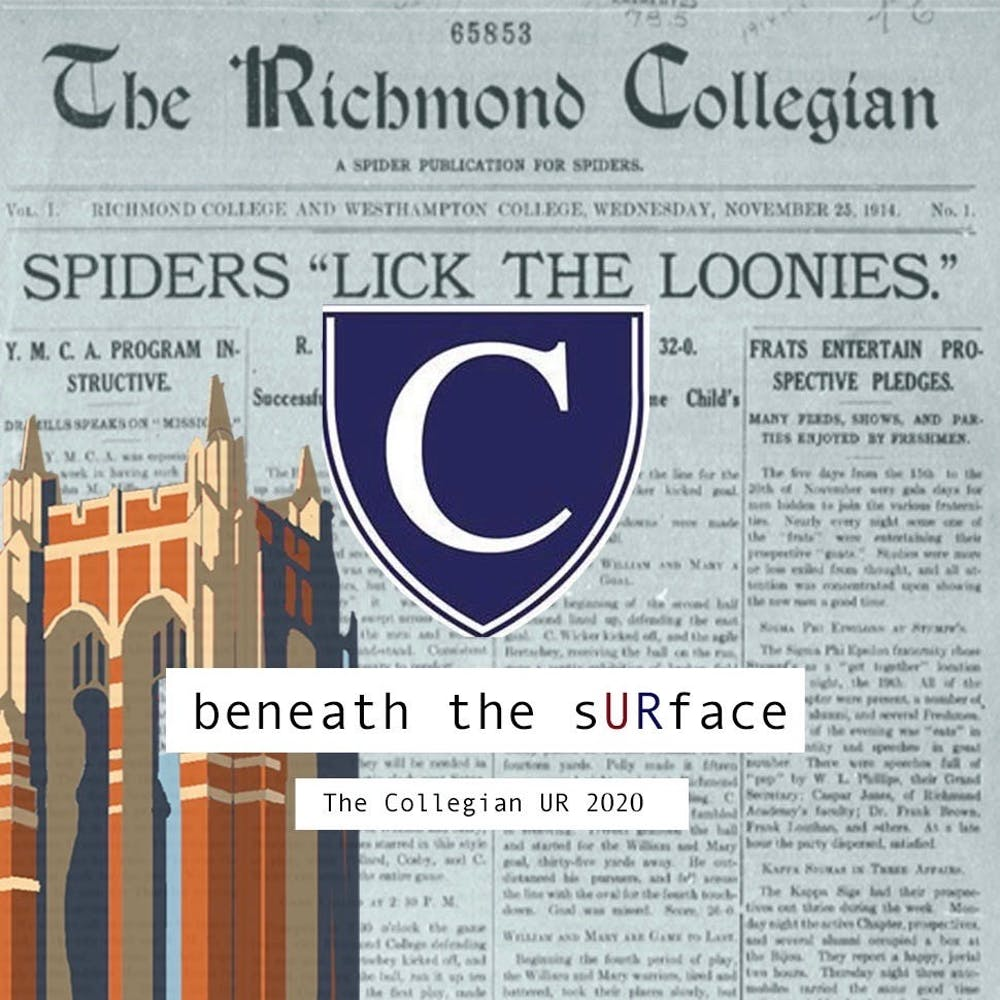 <p>Graphic of Boatwright Tower created by Nolan Sykes. Collage by The Collegian.&nbsp;</p>