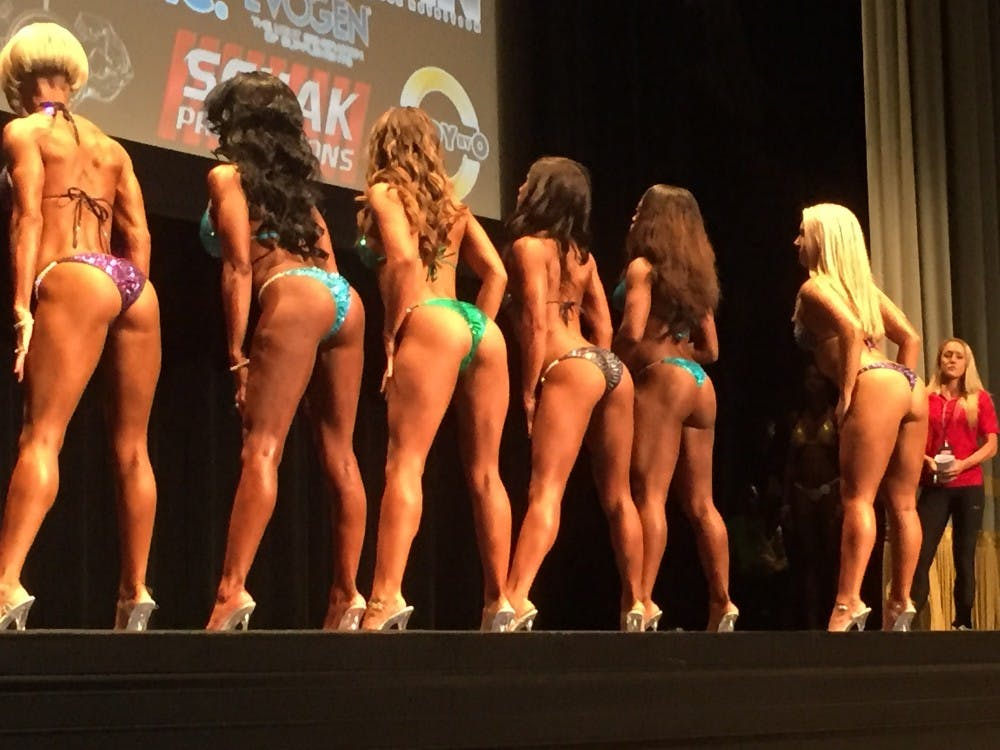 Tabby said her glutes were here strongest attribute.