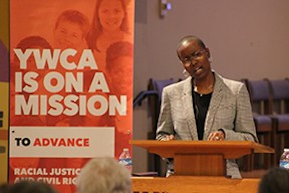 <p>Dr. Donique MacIntosh previously served as the Director of Equity and Inclusion at YWCA Evanston/North Shore.&nbsp;Photo courtesy of ywca.org.&nbsp;</p>