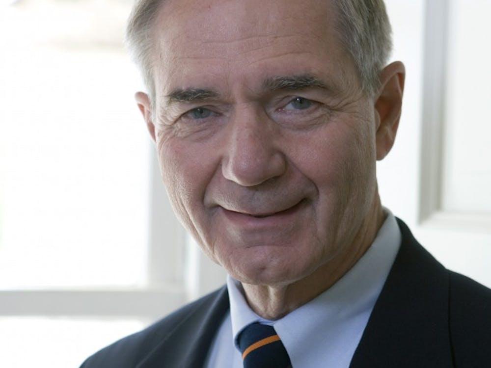 Leonard Sandridge, vice rector of the University of Richmond Board of Trustees.   Courtesy of University of Richmond.