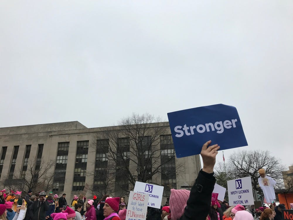Here are some of the highlights from Saturday's Women's March on Washington, as experienced by Collegian editors Claire Comey and Lindsay Schneider.