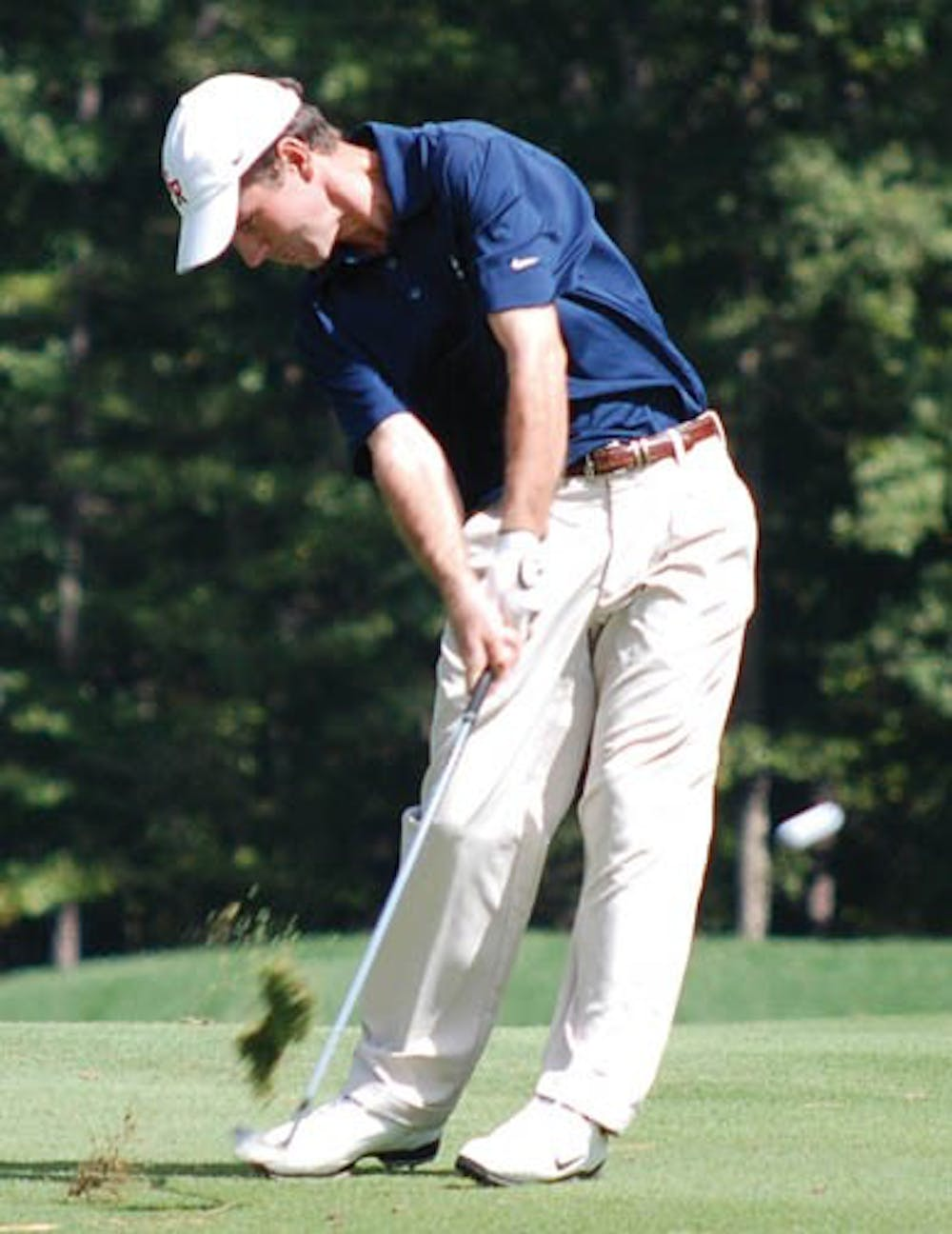 Junior Sam Beach during the VCU Shootout.  He finished 4th in the field.  The team placed 10th overall.