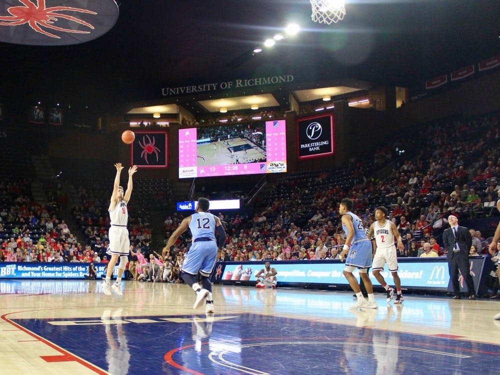 The Spiders won their sixth conference game this season on Wednesday in the Robins Center over Rhode Island, with a final score of 73–62.