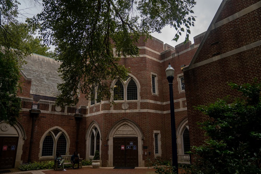 <p>The T.C. Williams School of Law at the University of Richmond.&nbsp;</p>